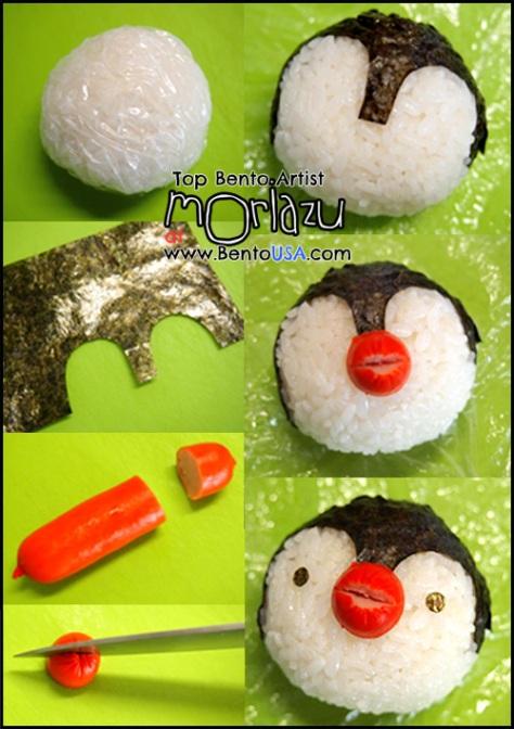 penguin-how-to-make-bento