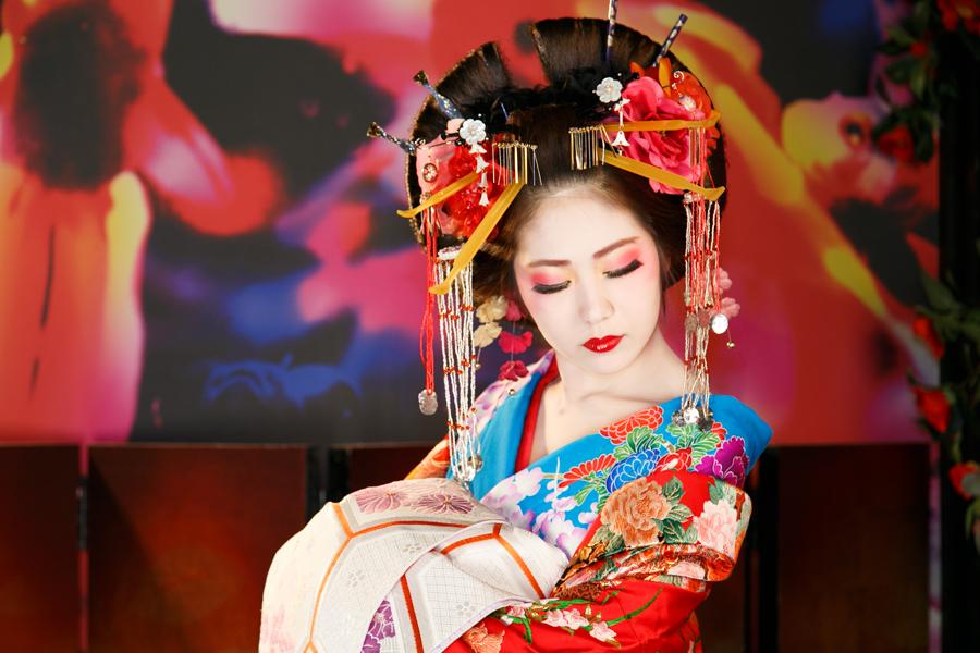Que Faire A Kyoto Une Photo Costumee En Courtisane Et Pas En
